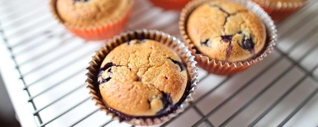 Blueberry Lemon Cheesecake Muffins
