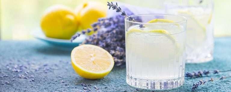 Sugar-Free Lavender Lemonade