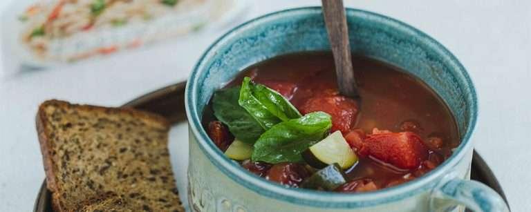 Tomato Soup with Orzo Pasta