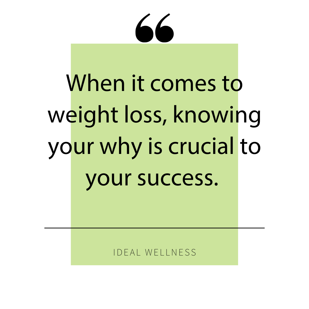 When it comes to weight loss and success